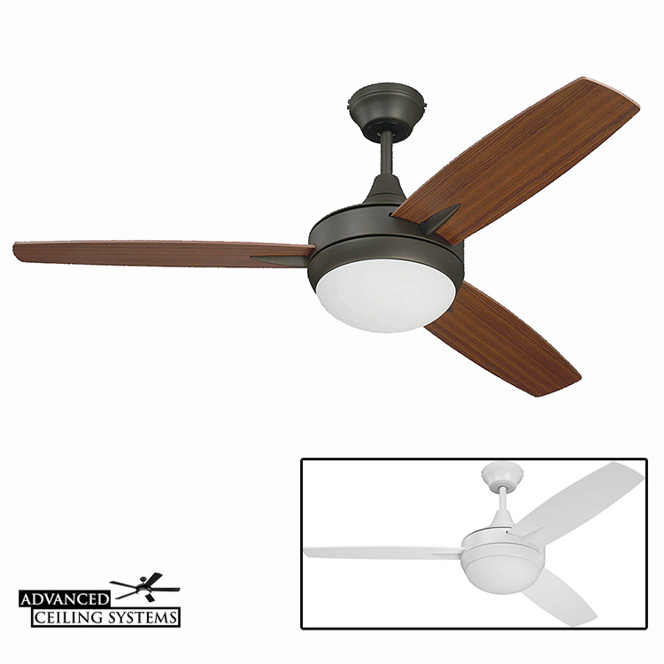 Craftmade Targas - modern small bedroom ceiling fan with light