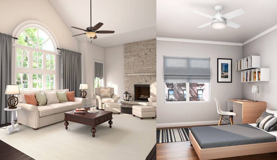 Quality ceiling fan brands - Hunter Fan Company
