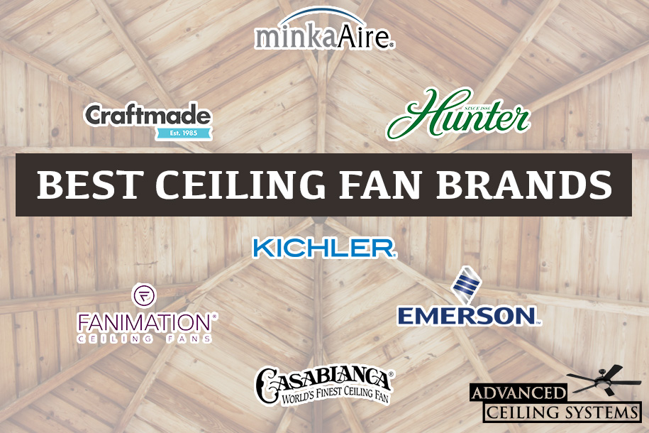 Ceiling fan manufacturers list