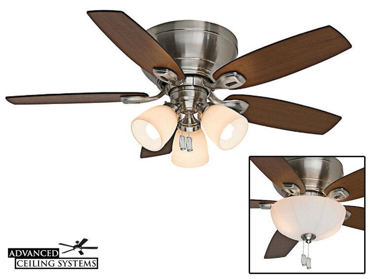 11 Best Ceiling Fans With Regular Light Bulbs E26 And Edison Bulb Ceiling Fans Advanced Ceiling Systems