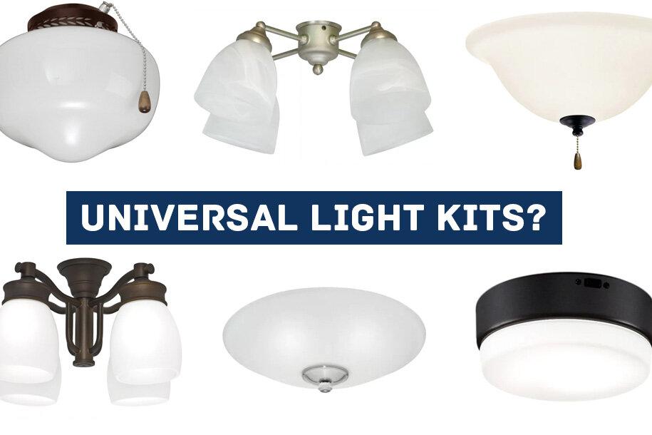 Are Ceiling Fan Light Kits, How Do I Install A Ceiling Fan Light Kit