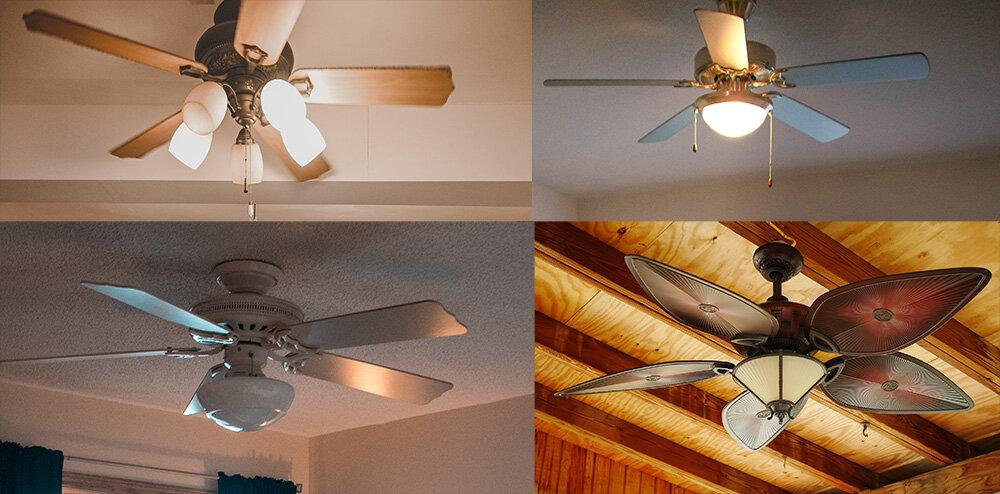 Universal Ceiling Fan Light Kit Cap