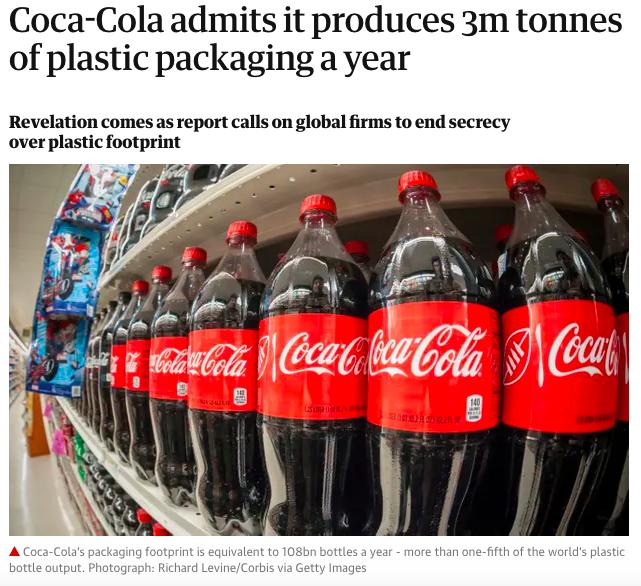 Peak Environment - Coca Cola
