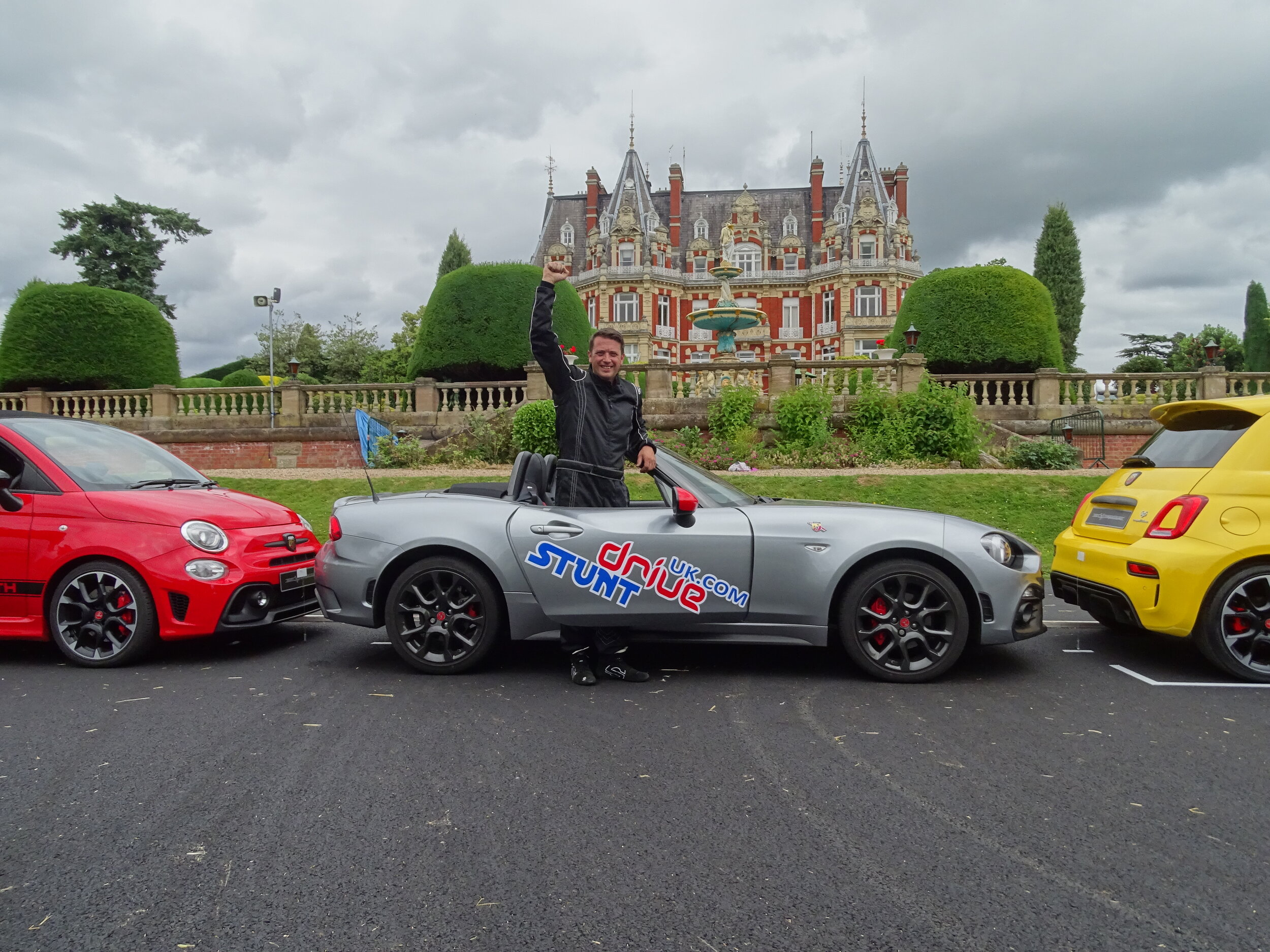 Guinness World Record at Chateau Impney Hill Climb 2019
