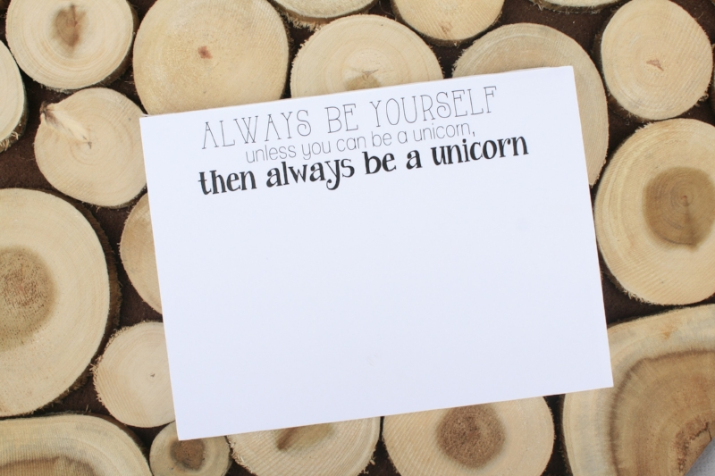 Funny Unicorn Gift SallyMack Chapel Hill