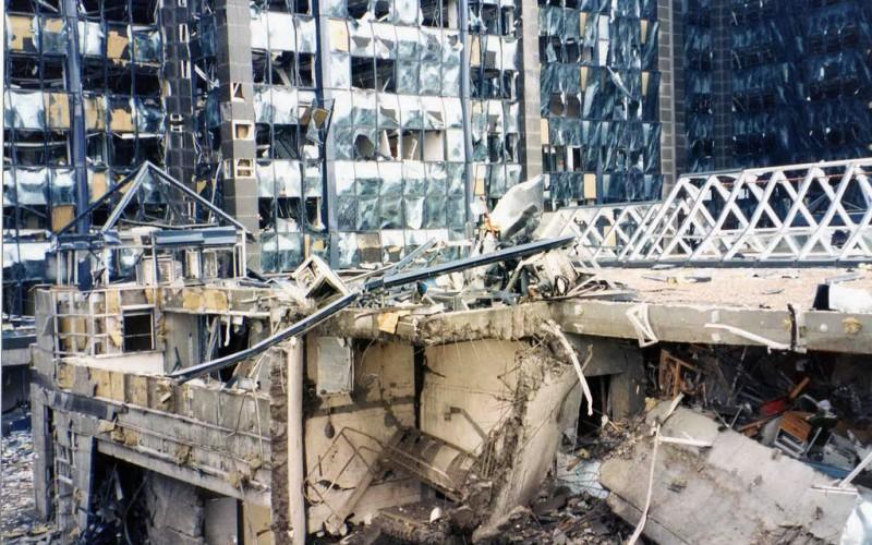 1996 Docklands Bomb Site