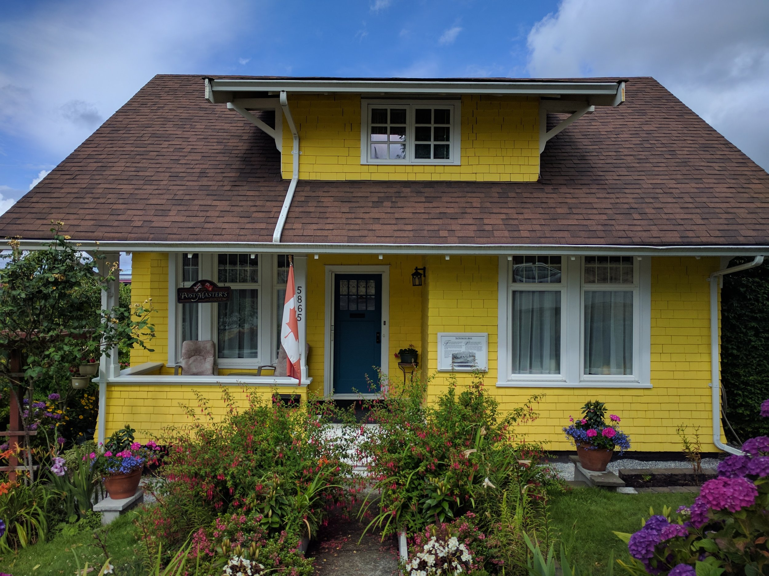 A beautiful example of the Arts and Crafts houses in the Townsite.