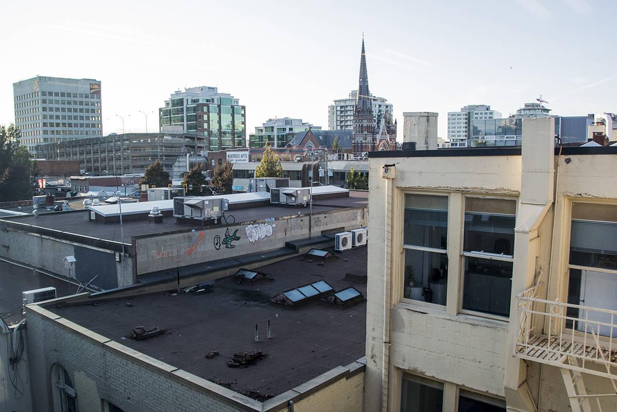 Urbanists hope to see Victoria's unused rooftops… -