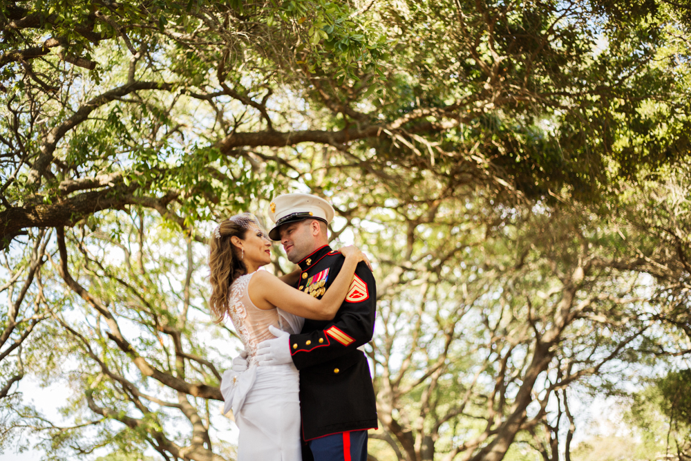 Myrtle-Beach-Marine-Army-Modern-Wedding-Oak