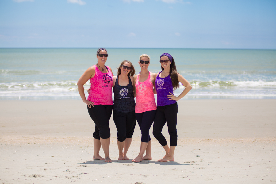 Myrtle-Beach-Yoga-Black-White-Pam