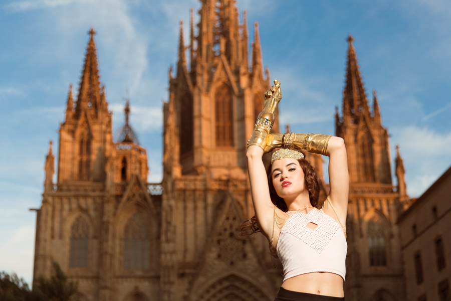 barcelona+gothic+district+fashion+photography