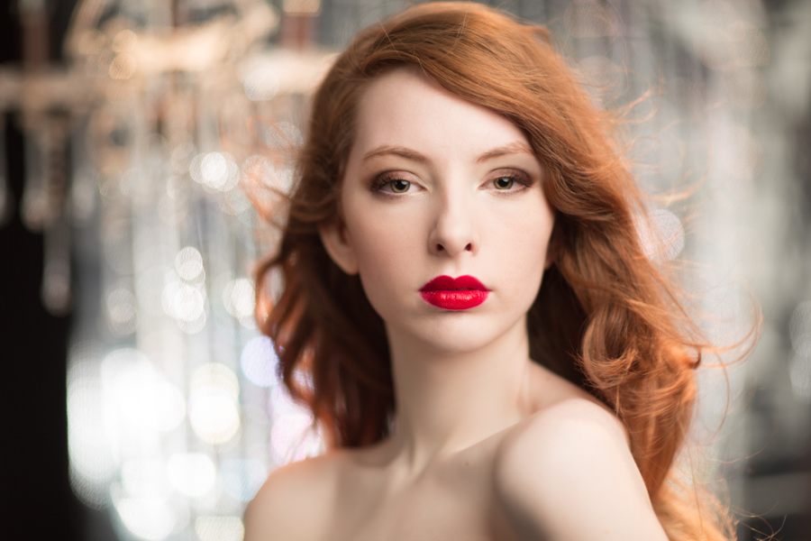 ginger+red+hair+red+lip+fashion+photography