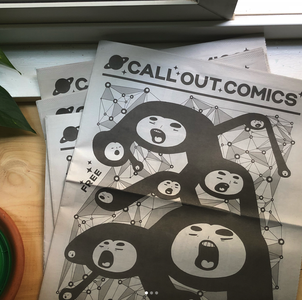 "Hey! Passing along this message from our friend Jonathan in Toronto :)  ""Hello,  I'll be publishing a new issue of Call Out Comics, to debut at Broken Pencil Canzine in Toronto in October. Call Out seeks confrontational comics that challenge a person, idea, pet-peeve, etc. and/or attempt to hold someone/something accountable for their words/actions. Think fierce. Older not new work is ok.  Project info:  http://rotsztain.com/projects/call_out.html   Specs:  - Black and white  - Full page: 10"" x 13 ""  - Minimum 300dpi TIFFs, JPEGs or PDFs  - One page per artist  Artwork due September 1,  Selected artists will receive $10/comic + 10 complimentary copies.  Please let me know if you're interested in contributing! Thank you for your consideration,  Jonathan"""
