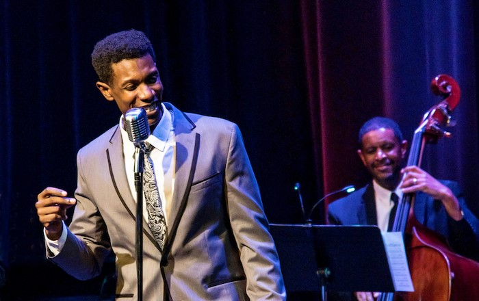 Evan Tyrone Martin performs the music of Nat King Cole for the Artists Lounge Live Series. Handout photo.