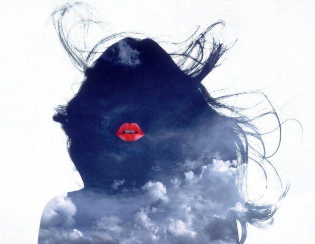 """Lips"" (1986) by Ryszard Horowitz."