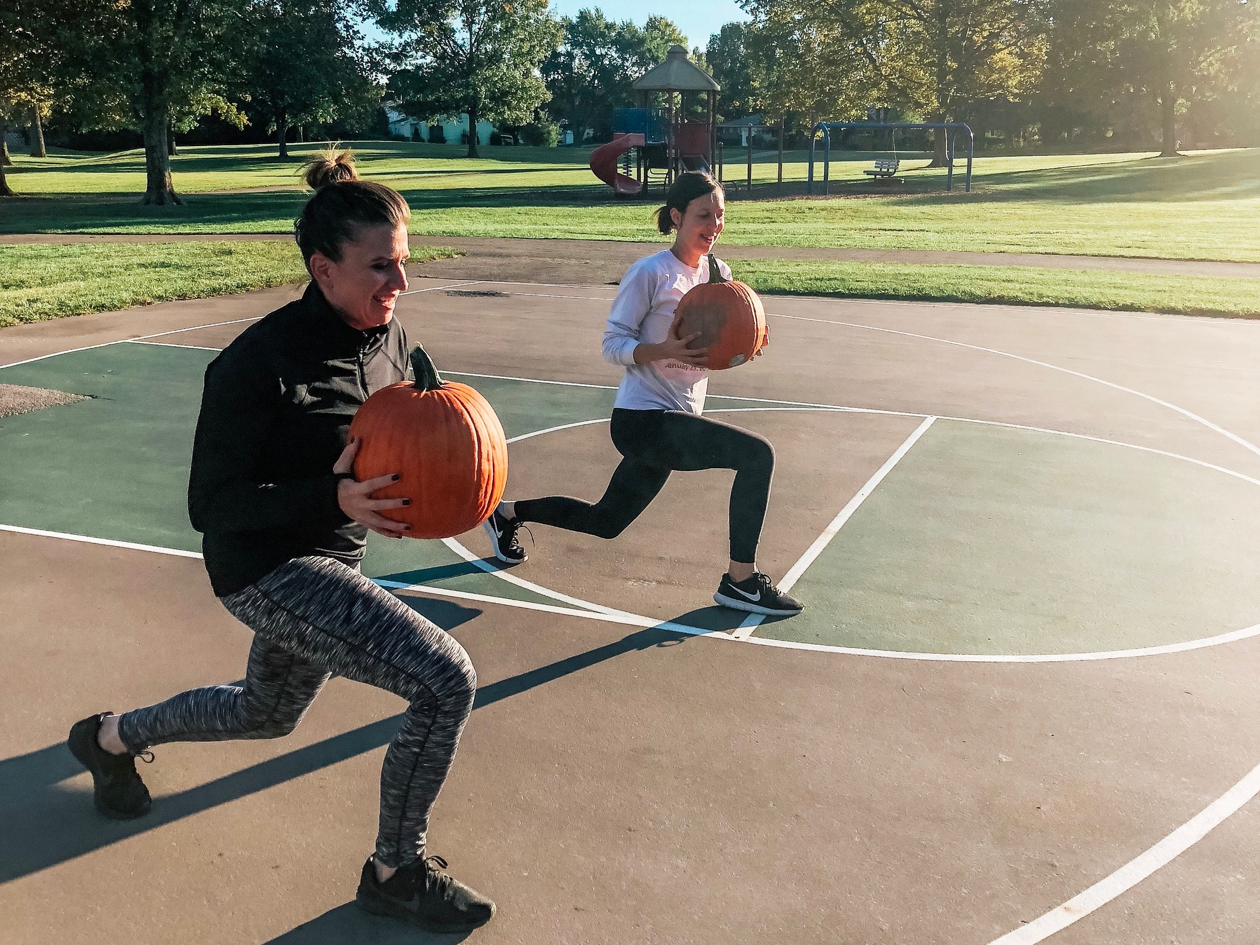 Seriously Fun - We get a serious workout in, but we don't take ourselves too seriously. We are moms, dads and teachers who want to show our kids the importance of health and fitness by our own example.