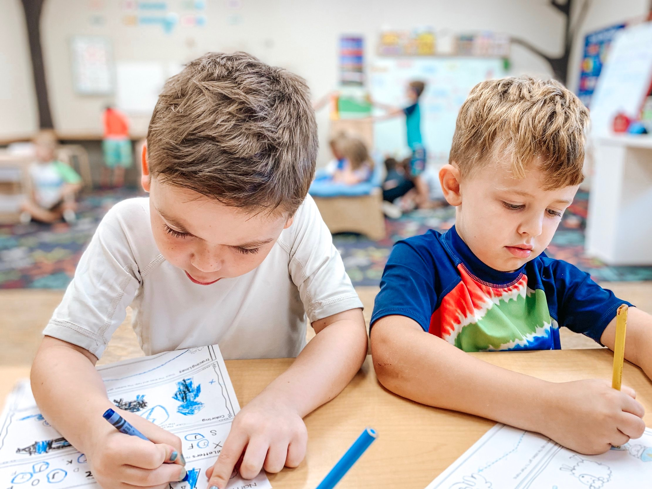 Creating confident learners - Our curriculum focuses on skills to help students become critical thinkers, creative problem solvers, and open-minded communicators. Our state-certified teacher guides children by using Ohio's Common Core Standards in math, science, social studies, and language arts.