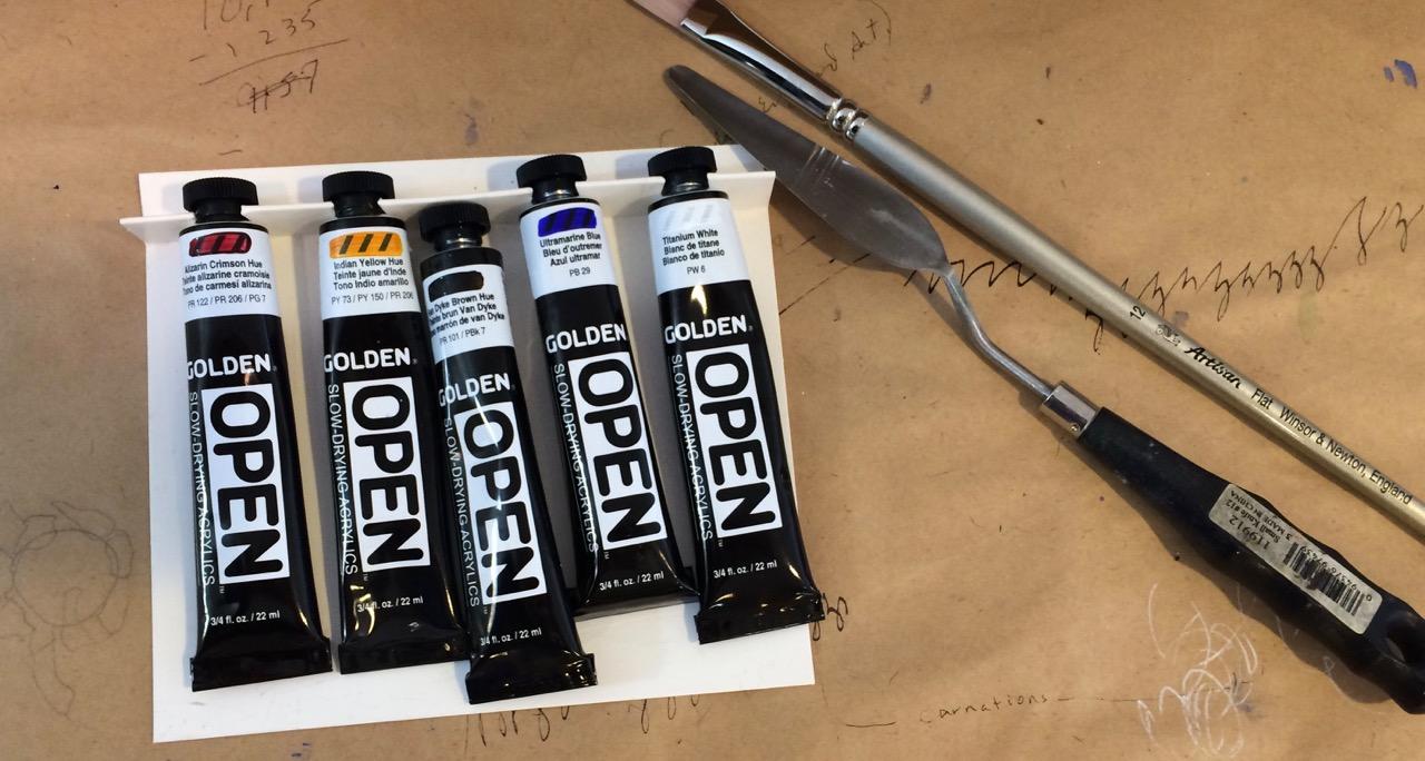 Golden Acrylic - Open, slow drying sample set.jpg