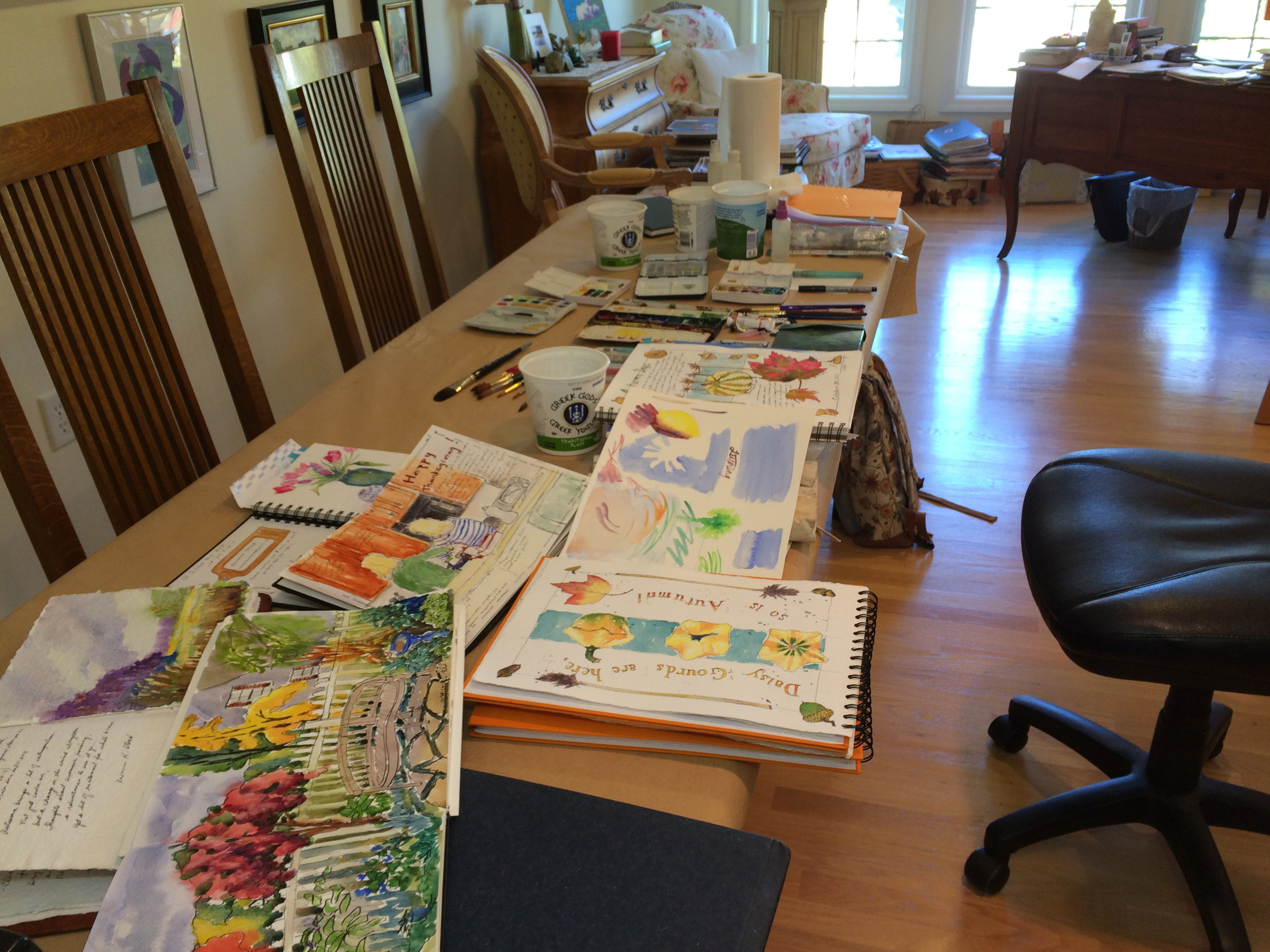 Beginnings of Watercolor Class-paper, paint, brushes - how & why they work.jpg
