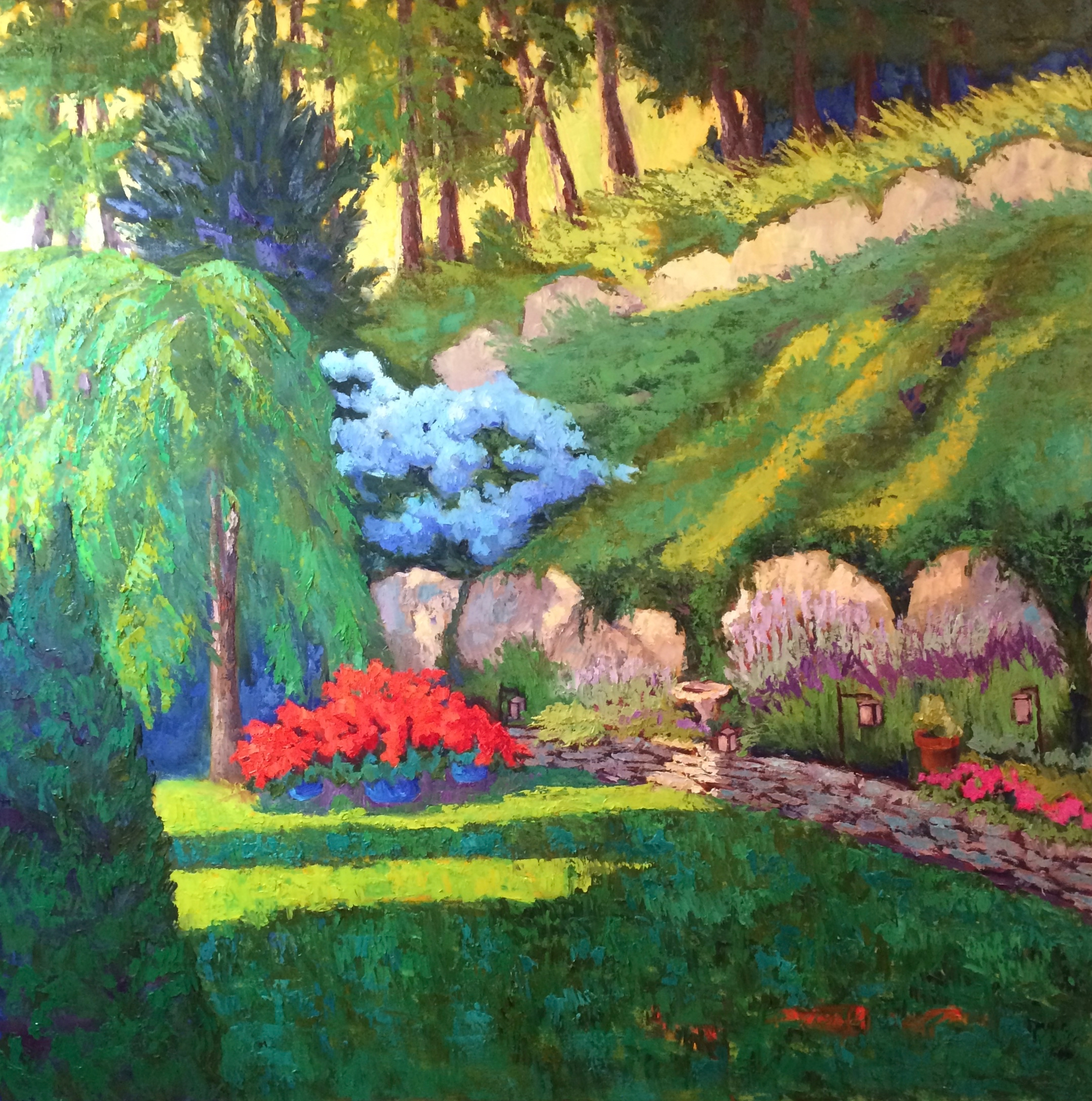 Cindy's Garden 30%22x30%22 commission (1).jpg