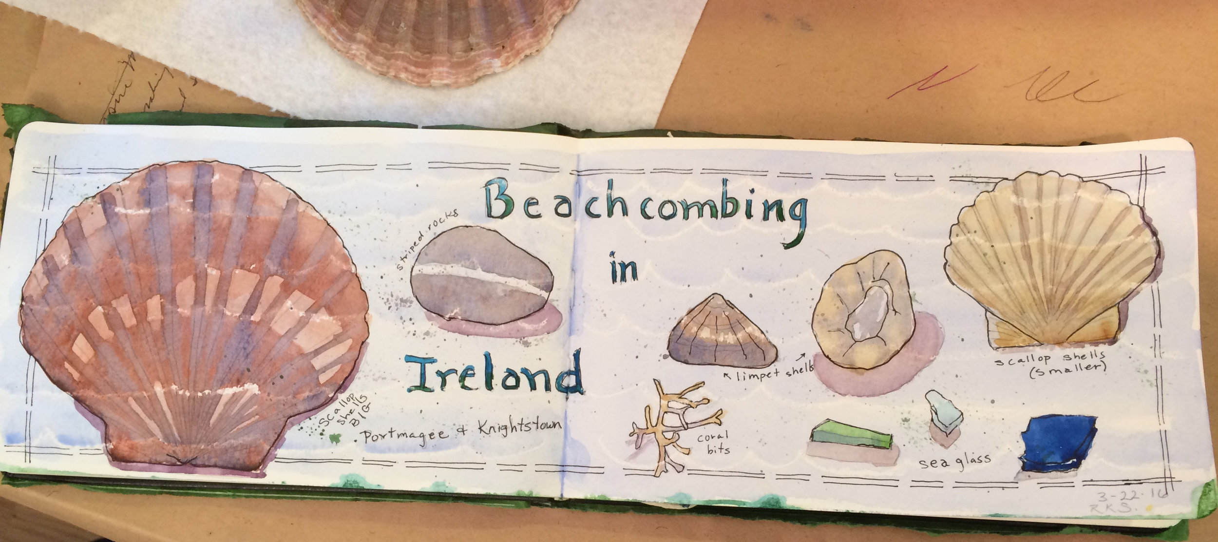 Ireland Sketchbook-Beachcombing in Ireland-2016-pretrip.jpg