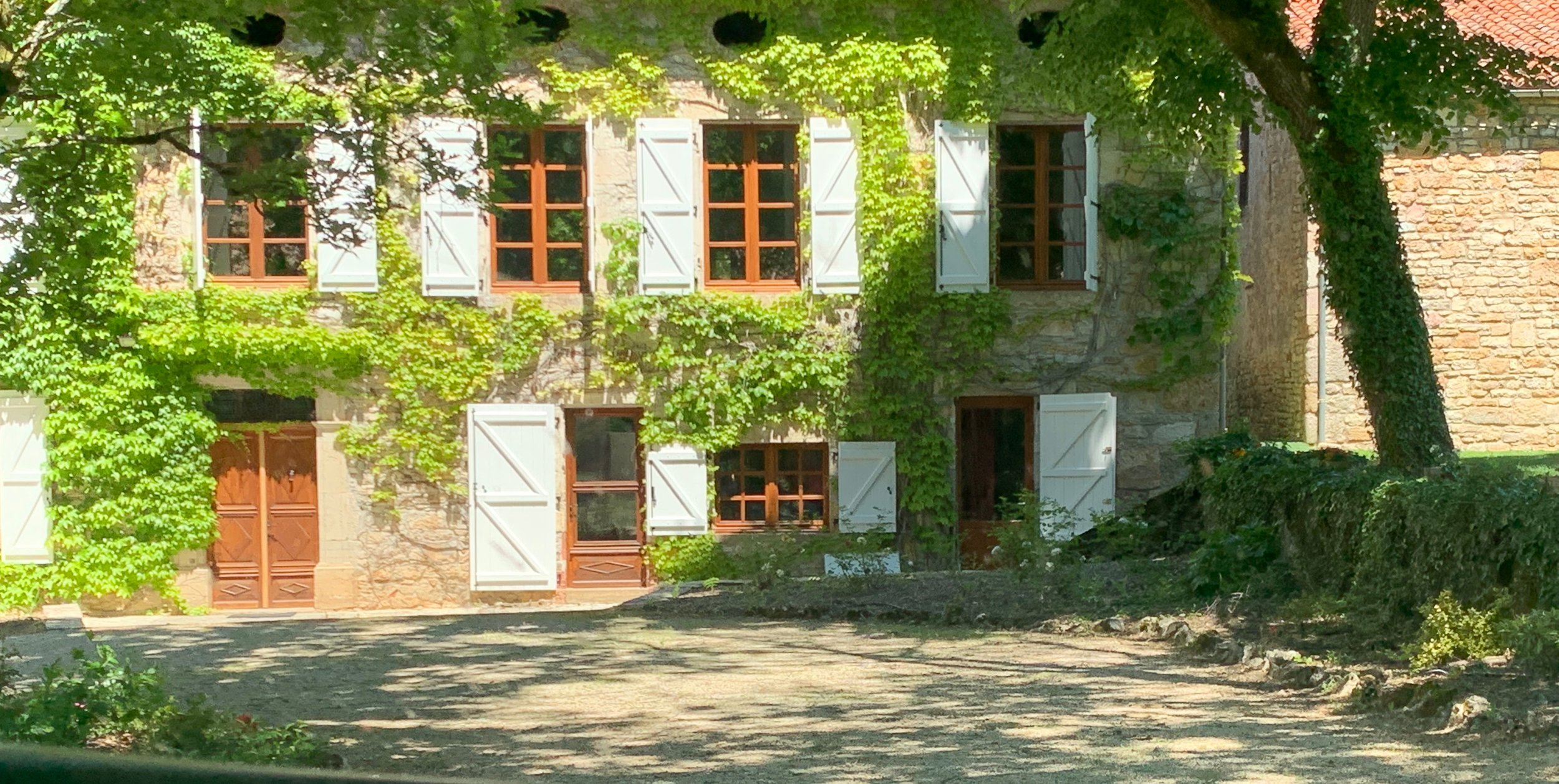 Our home away from home in Calvignac, France. A wonderful place for artists!
