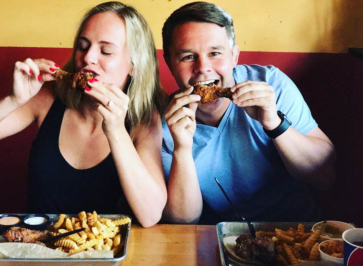 Southern Love : On May 24, 2017 Bobby Con and Kimberly Zoe tied the knot over their Southern favorites.