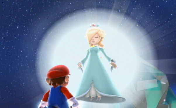 The Super Mario Galaxy games told a compelling story in very few words.