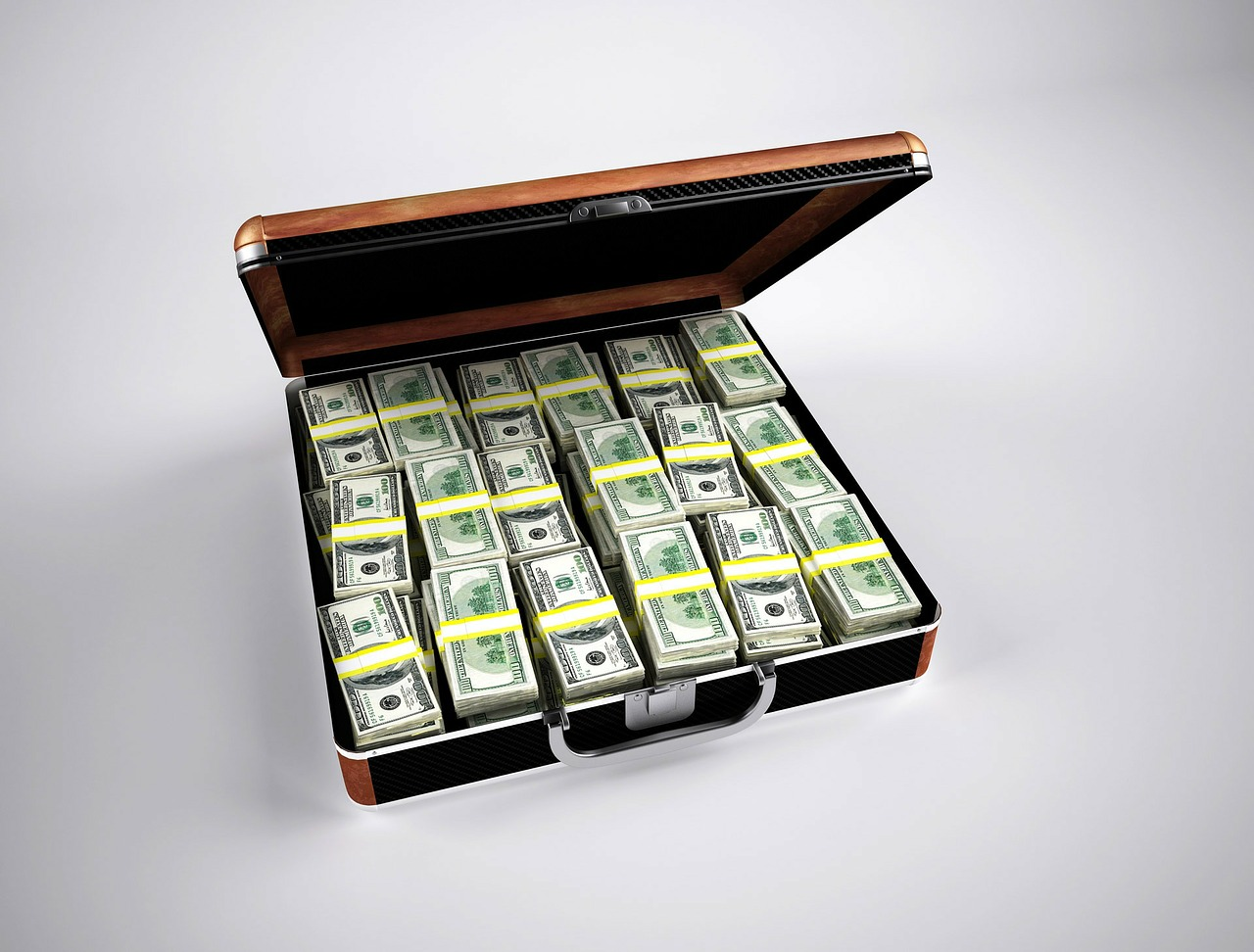 You might be surprised how much money you can make in sales (just don't put it in a drug money briefcase like some guy did to make this stock photo).