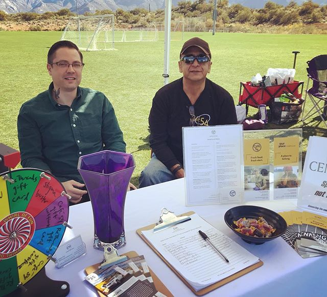 Come say hi to us here at Naranja Park in beautiful Oro Valley! Sponsored by @cenergillc, this event features live music, local vendors, and raffles, and proceeds benefit CTF programs @cafe54_bistro,  @ourplaceclubhouse, and @rethreadstucson, in addition to @wingsforwomen and @dbarsrescue! #CTFTucson #RecoveryWorks