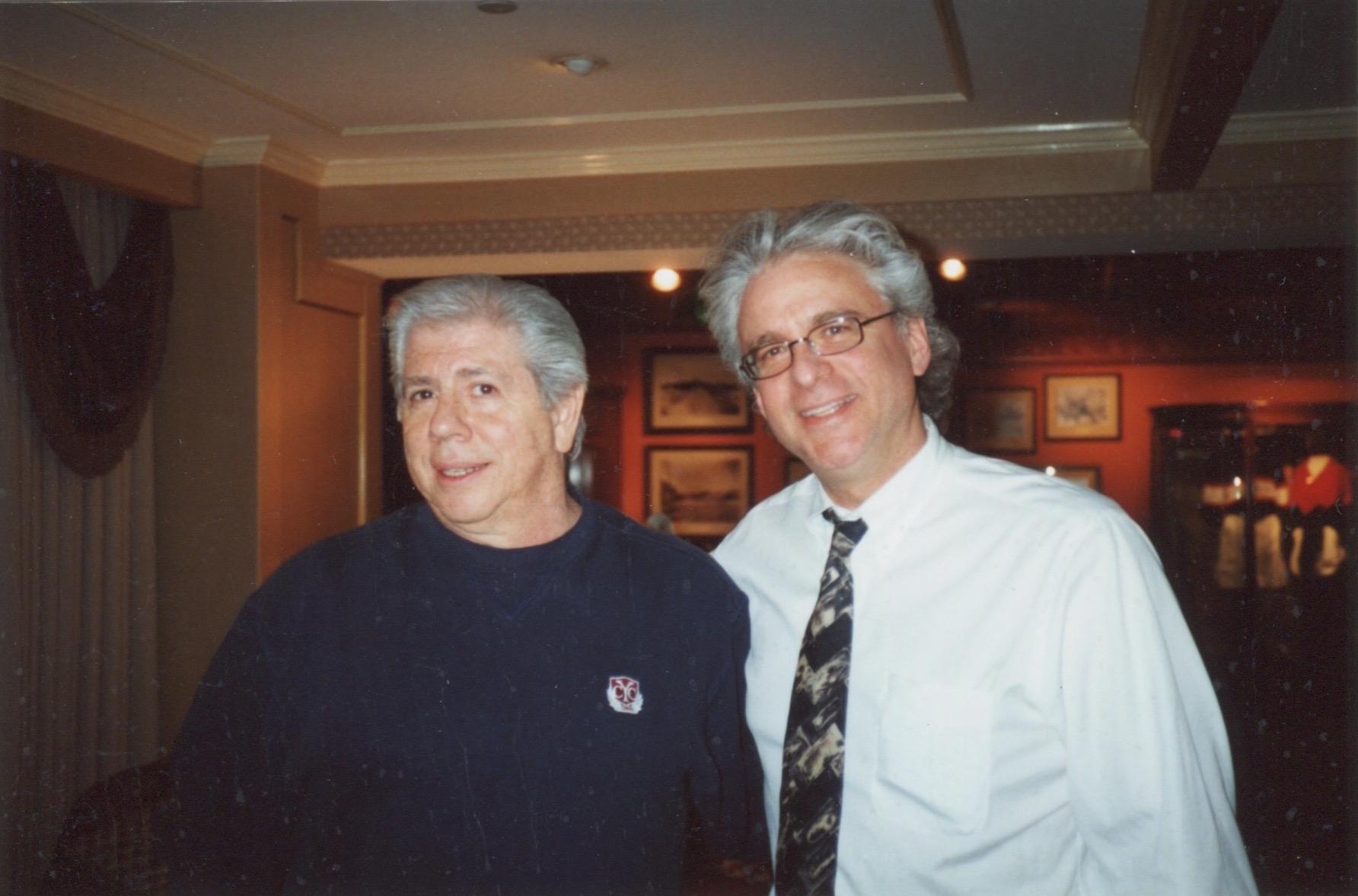 Jeff with Carl Bernstein