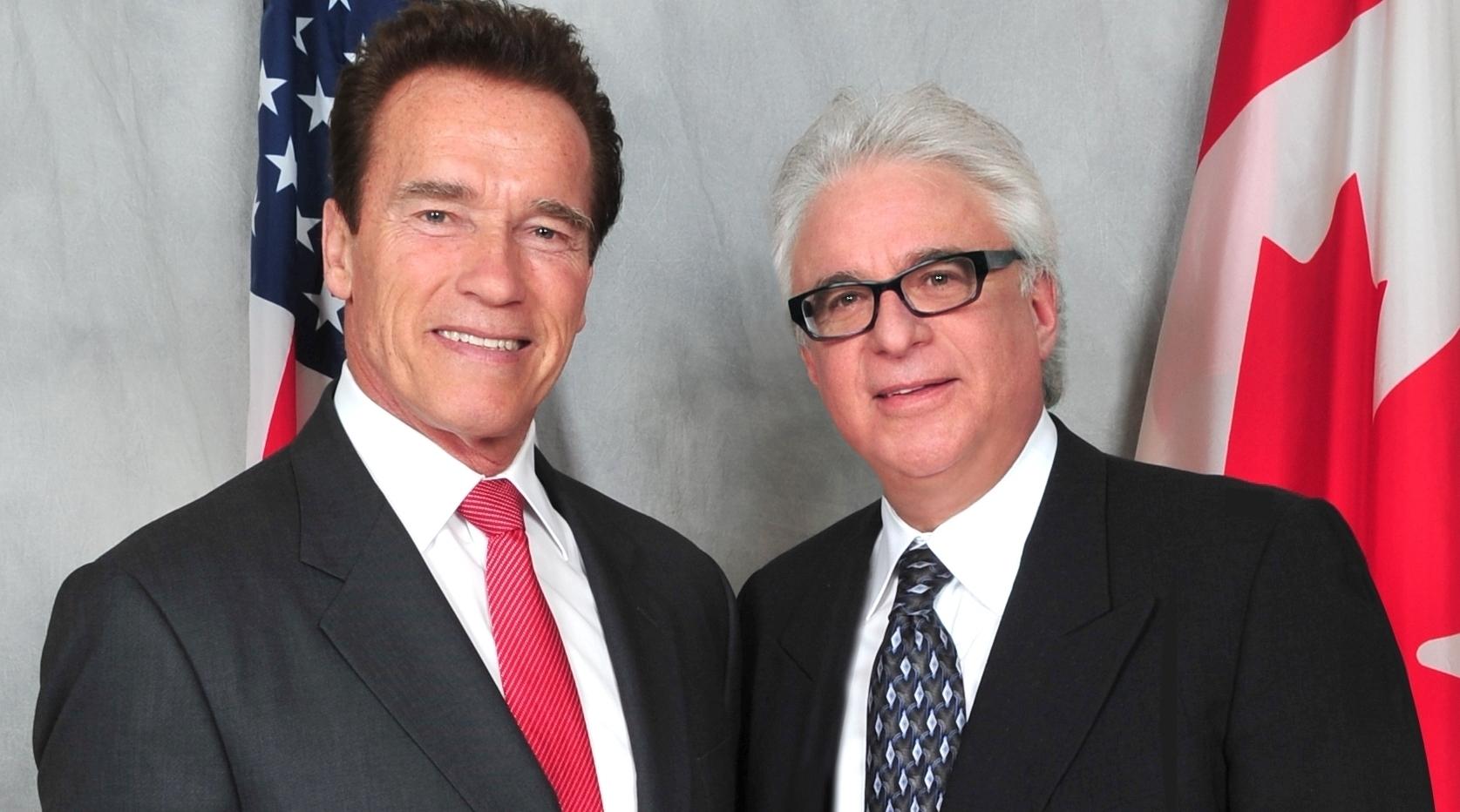 Jeff with Arnold Schwarzenegger