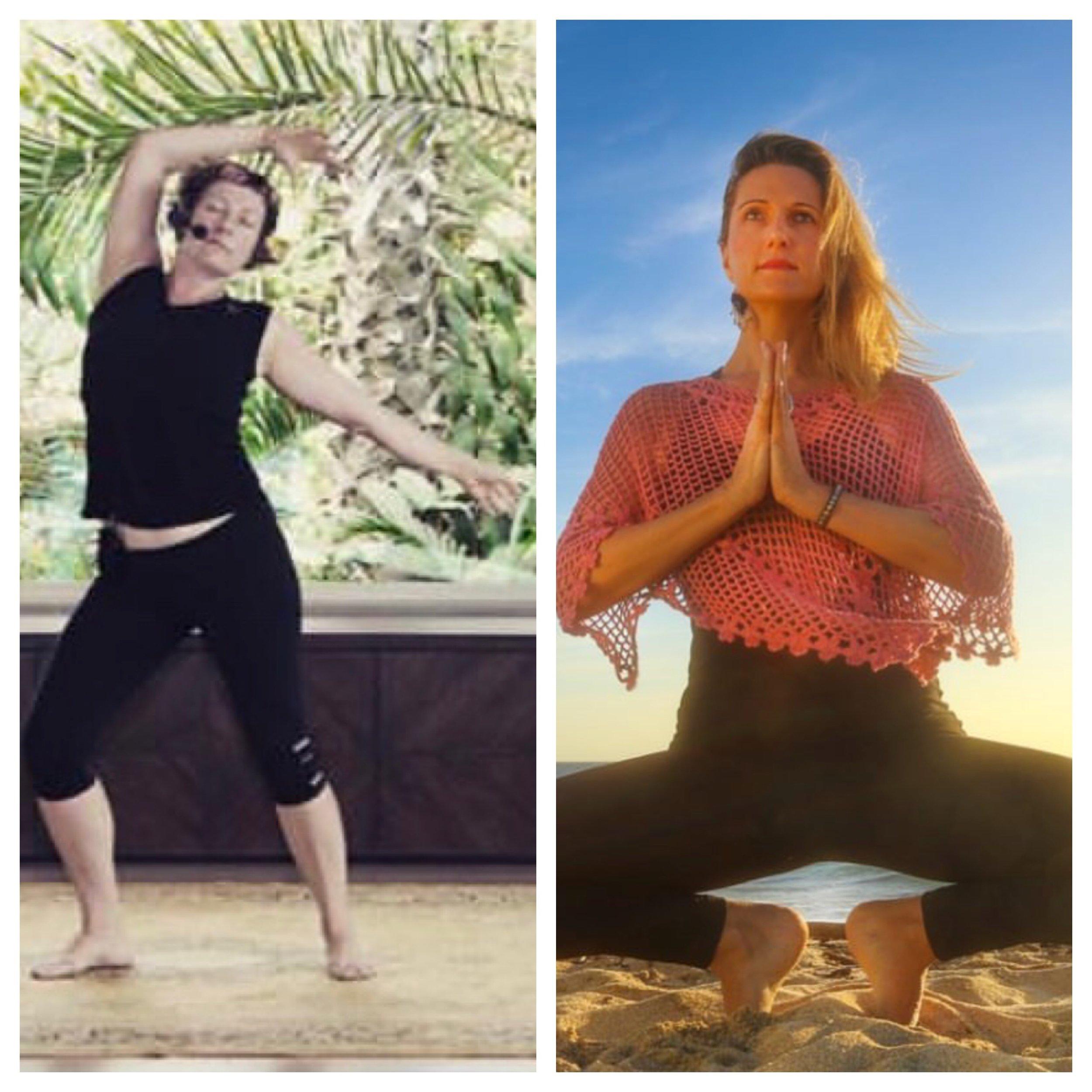 MARIMAR HIGGINS Y ZOË DEARBORN - MEDITACIÓN, YOGA Y MOVIMIENTOEsta clase híbrida combina asanas de yoga con el movimiento libre a medida que la energía lentamente se intensifica a una juguetona y divertida fiesta de baile. La experiencia completa es realzada por una lista de reproducción de música evocadora.La clase empieza con una meditación relajante con un énfasis sobre la conciencia mente-cuerpo y la respiración consciente. Con Marimar y Zoë como sus guías, sus sentidos despertarán mientras que usted se transformará gradualmente desde un estado de conciencia interior a una expresión creativa a través del baile.