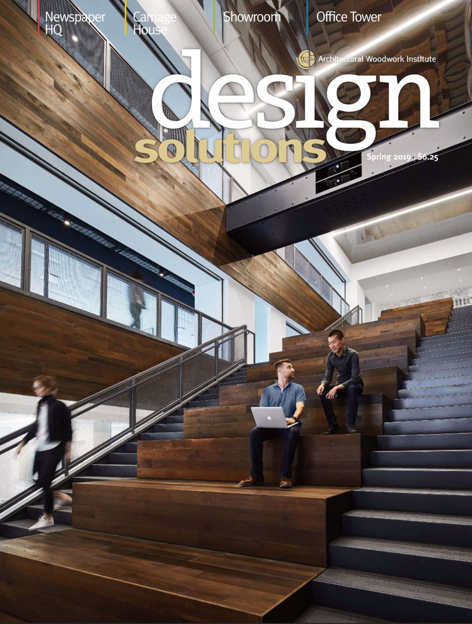 Recently, the Tribune project was featured on the cover of the Architecture Woodwork Institute's Design Solutions magazine.  It was also featured in Trends, a New Zealand-based design publication, in early 2019.