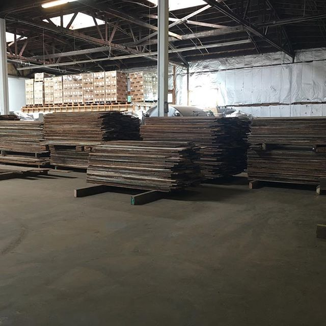 Looking for reclaimed hardwood? We are fully stocked with more than 40K linear feet of FSC Certified material with more on the way!