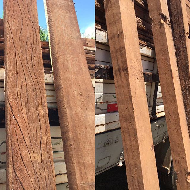 Looking for hardwood beams with character?