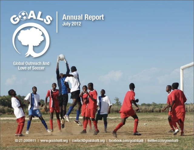 GOALS Haiti 2012 Annual Report