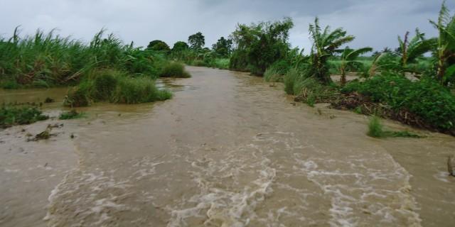 Flooded Road Sandy