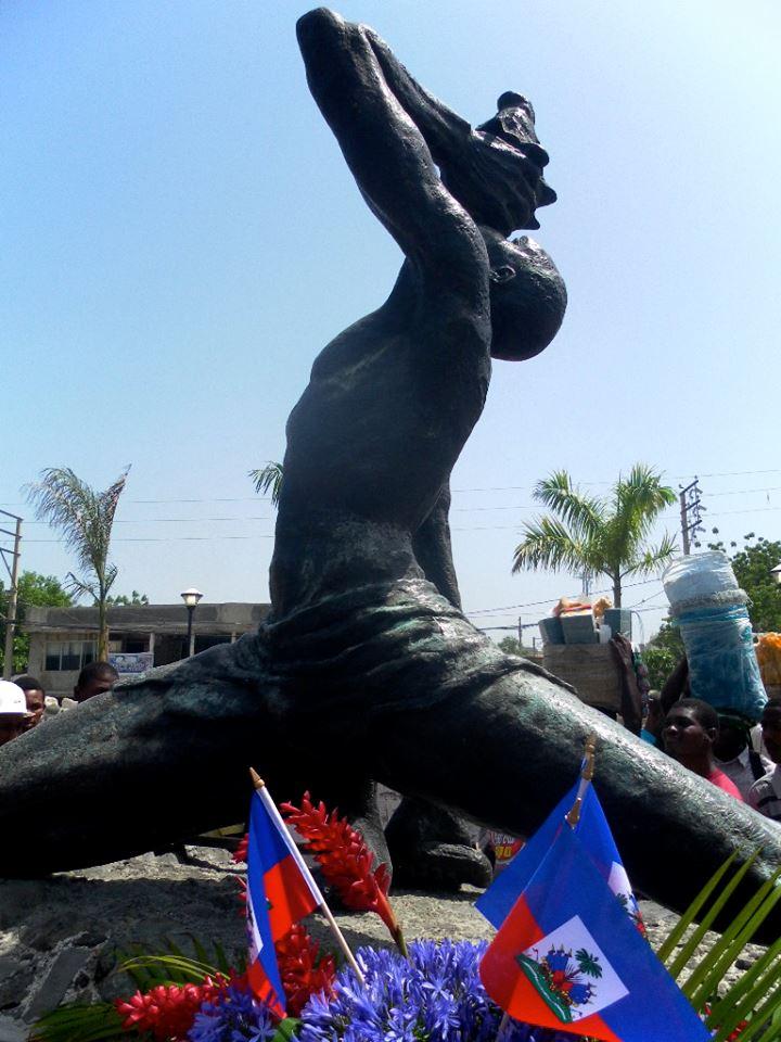 Neg Mawon statue