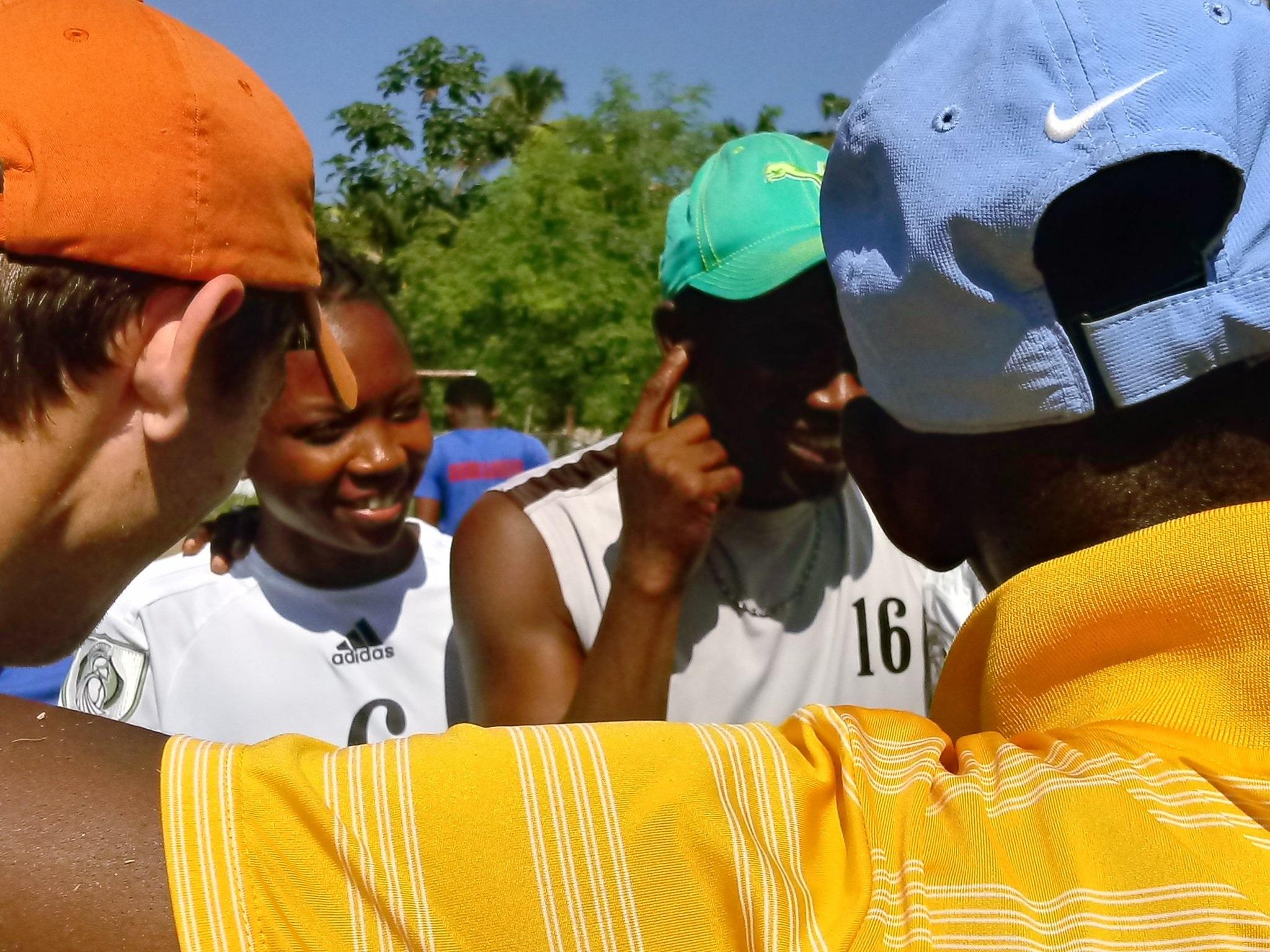GOALS Haiti soccer players