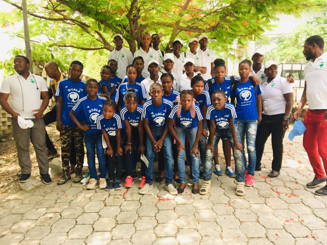 GOALS Staff and Team Captains took part in the Haitian National Day of the Child Assembly