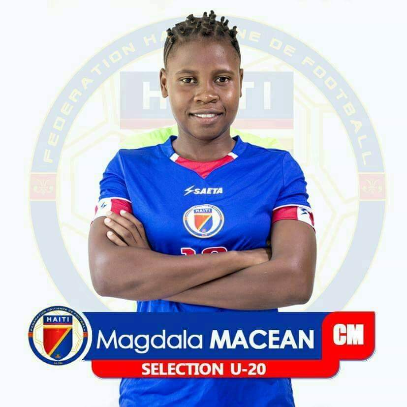 Former GOALS Team Captain following her dream to play with the Haitian National Team