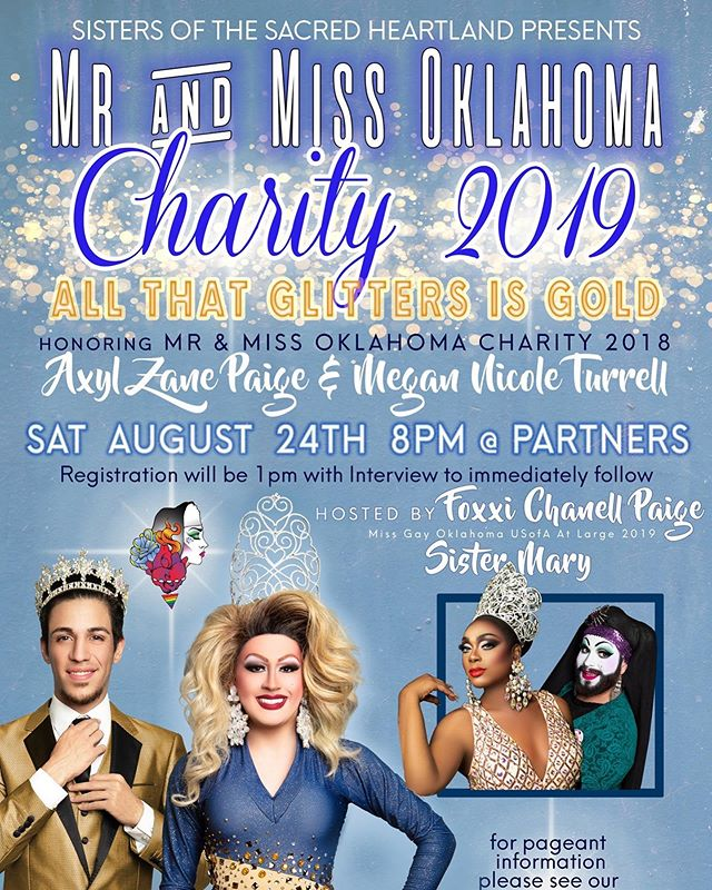 It's pageant time again! Come out to Partners, this Saturday at 8pm to see a fabulous pageant and help raise money for charity!