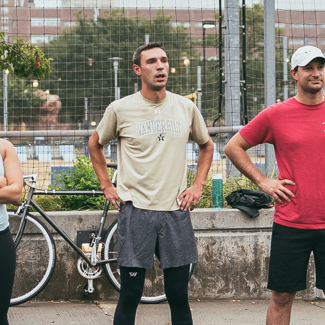 """JD Methfessel, NYC Marathon Team for Kids - """"Team for Kids is a team of adult runners who raise funds for critical services provided by New York Road Runners youth programs. These programs empower youth development and encourage healthy habits via running and character-building programs across the country."""""""
