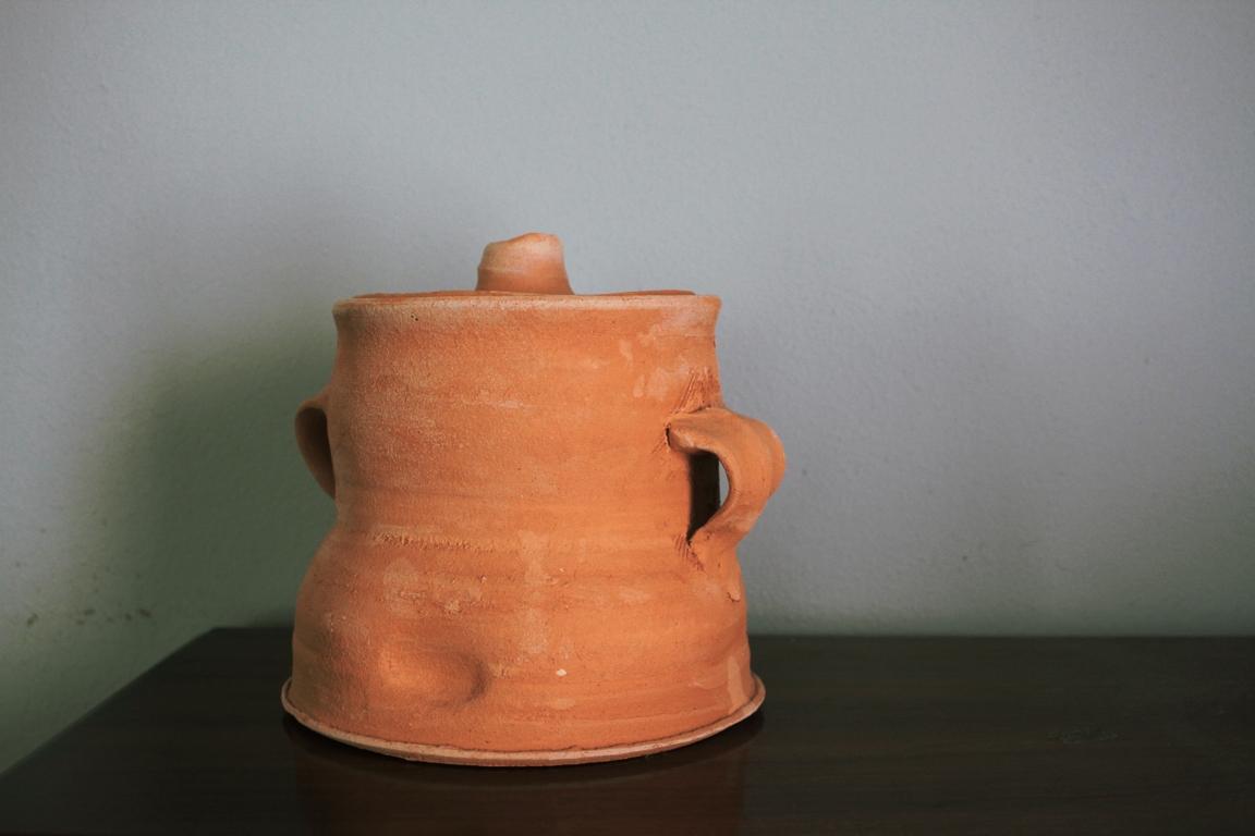 Lidded Jar, with Handles