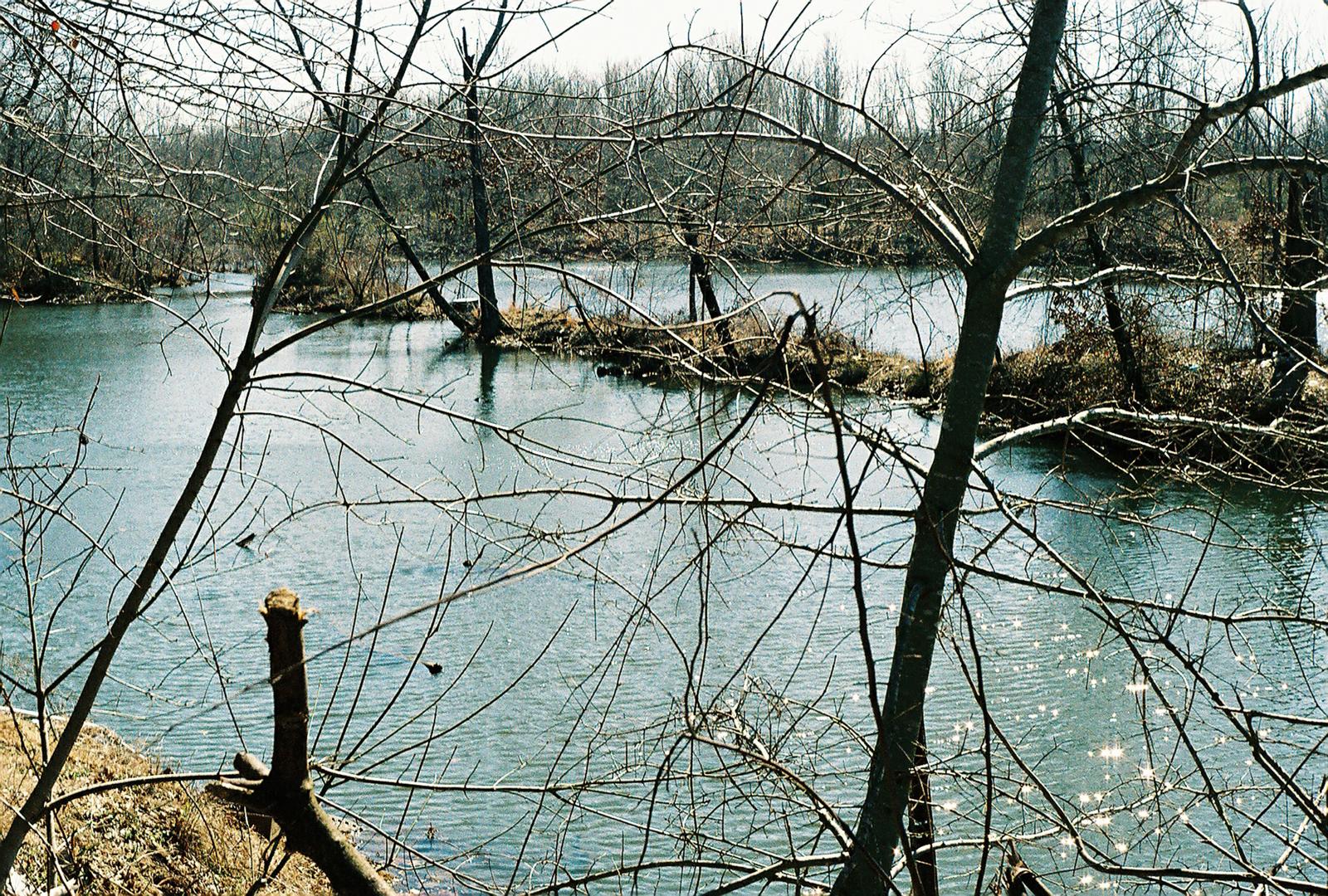 Pond, 330 Block of S. Elm Street