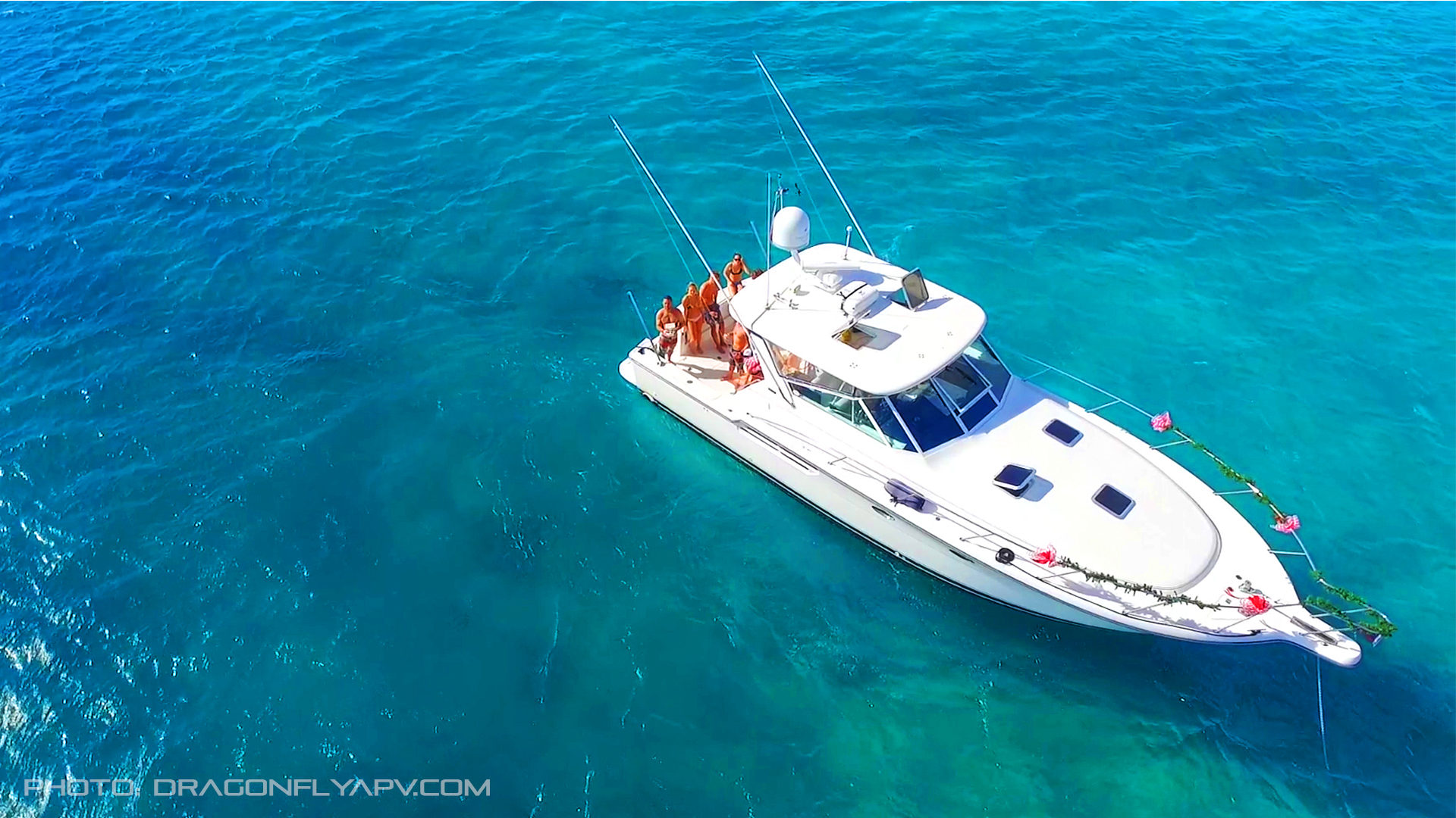 Rubicon - Tiarra 45- Ideal for getting out of Waikiki on a comfortable high speed day trip to the west side of Oahu and beyond.