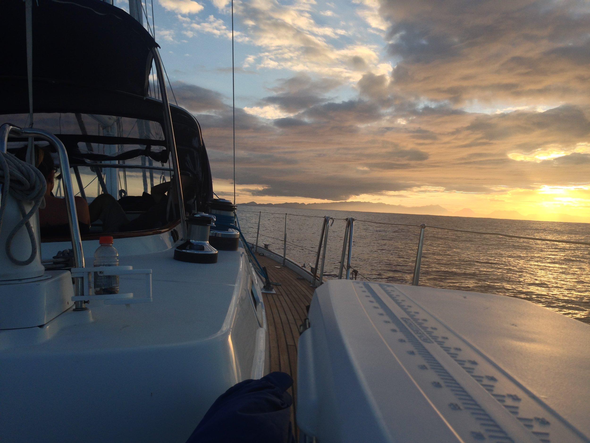 sunset off east oahu.JPG