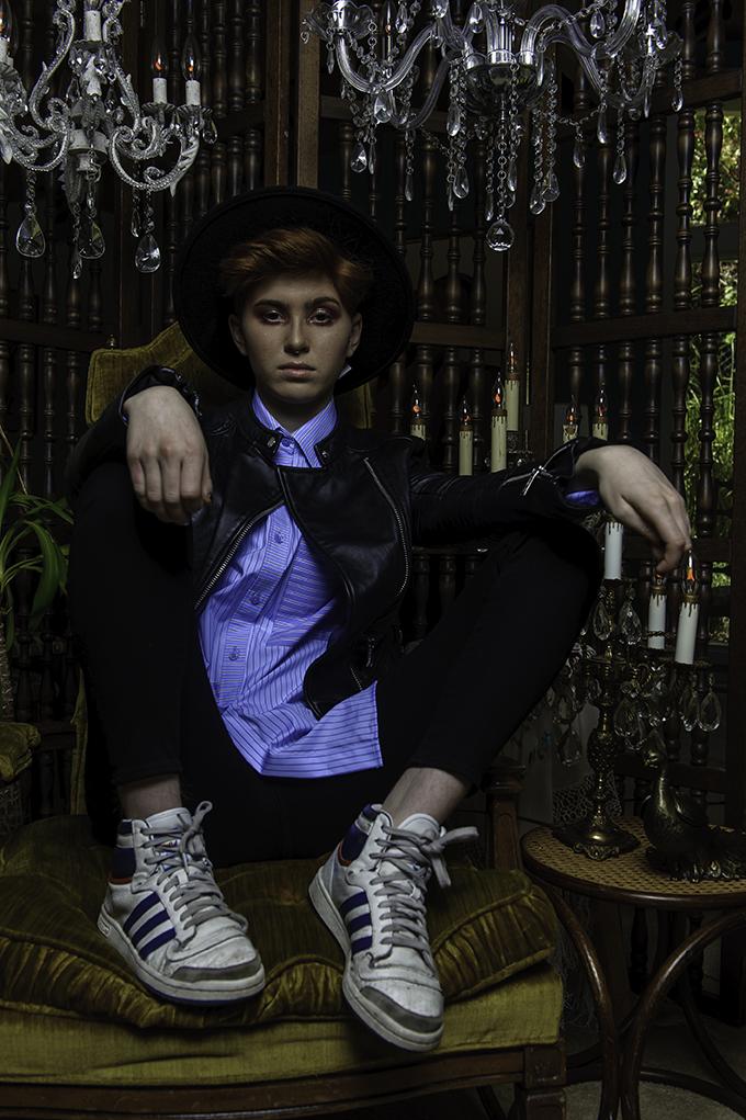 - Copyright 2017 Attic Floc Photography. Lauren Farnoosh styling. Fee Salazar MUA.