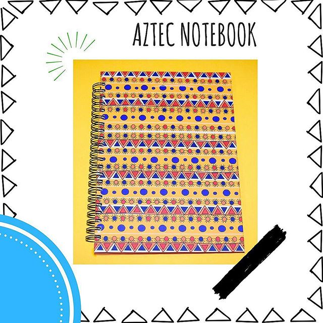 Brighten up your day with our Aztec multicoloured notebook!! It's a great conversation starter too😍 * * * * * * * #musingsonpaper #notepads #journal #bulletjournal #stationery #nigeria #buynigerian #lagos #design #illustration  #accra #lifestyleblogger  #productivity #ambition #goals #womeninbusiness #abuja  #motivation #accra #nigerianfashionblogger #abujabloggers #lagosbloggers #naijablogger #nysc #unilag #nigerianstudents